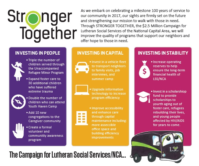 Stronger Together Infographic