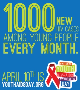 1000 new HIV cases among young people every month.