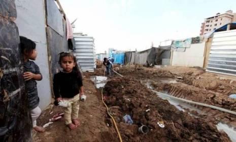 Refugee Camp near Baghdad in 2007